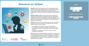 Selfpad: un outil d'initiation à la démarche réflexive