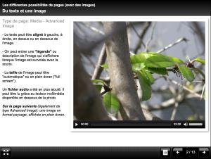 Produire des présentations avec plusieurs contenus multimédia