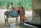 Approvvigionamento d'acqua in Yemen in una foto d'archivio delle Nazioni Unite